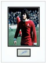 Kevin Keegan Autograph Signed Display - Liverpool